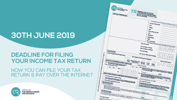 Individuals Tax Return Year of Assessment 2019
