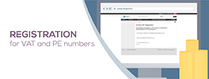 Register for PE and VAT number