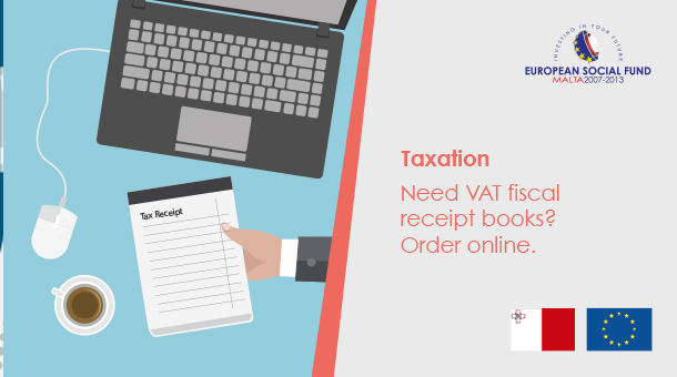 Order your VAT Fiscal Receipt Books